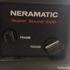 Antigüedades: PROYECTOR PELICULAS NERAMATIC - SUPER SOUND 600 – SUPER 8. Lote 254895890