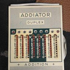 Antigüedades: ANTIGUA CALCULADORA ADDIATOR DUPLEX. Lote 254909820