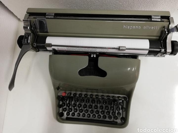 Antigüedades: Máquina de escribir años 60.Hispano Olivetti. Lexicon 80. - Foto 5 - 254912330