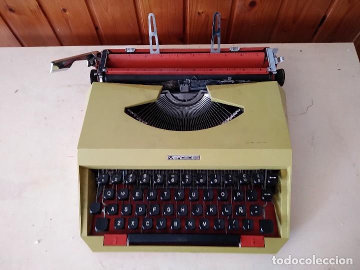 MAQUINA PORTÁTIL DE ESCRIBIR MERCEDES (Antigüedades - Técnicas - Máquinas de Escribir Antiguas - Mercedes)