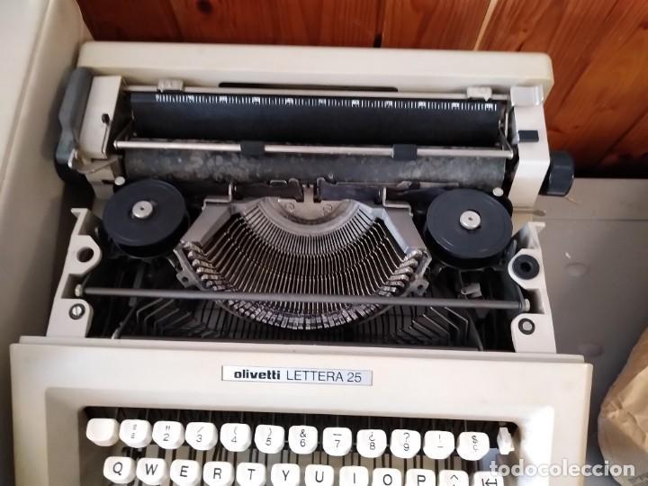 Antigüedades: Olivetti Lettera 25 Maquina de escribir - Foto 2 - 255330580