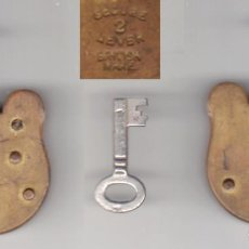 Antigüedades: CANDADO ANTIGUO - SEGUR LEVEL - REINO UNIDO. Lote 255410075