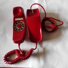 Teléfonos: ANTIGUO TELÉFONO ROJO MODELO GÓNDOLA DE SOBREMESA - CITESA MALAGA. Lote 255418875