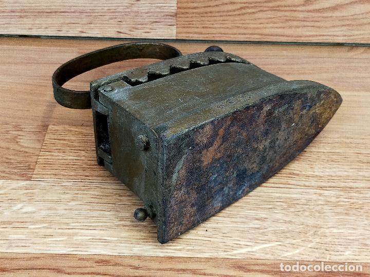 Antigüedades: PLANCHA CARBON - Foto 5 - 255428505