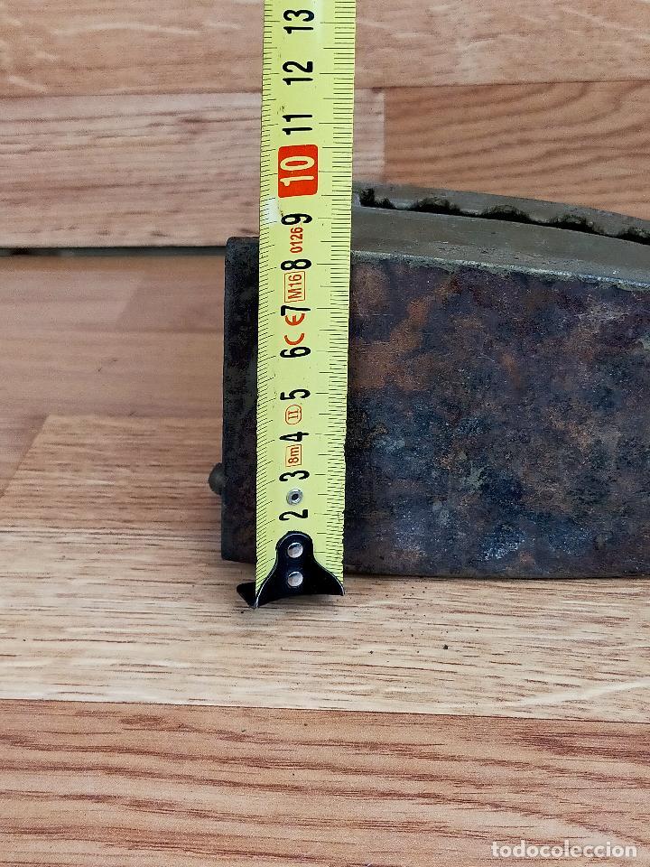 Antigüedades: PLANCHA CARBON - Foto 6 - 255428505