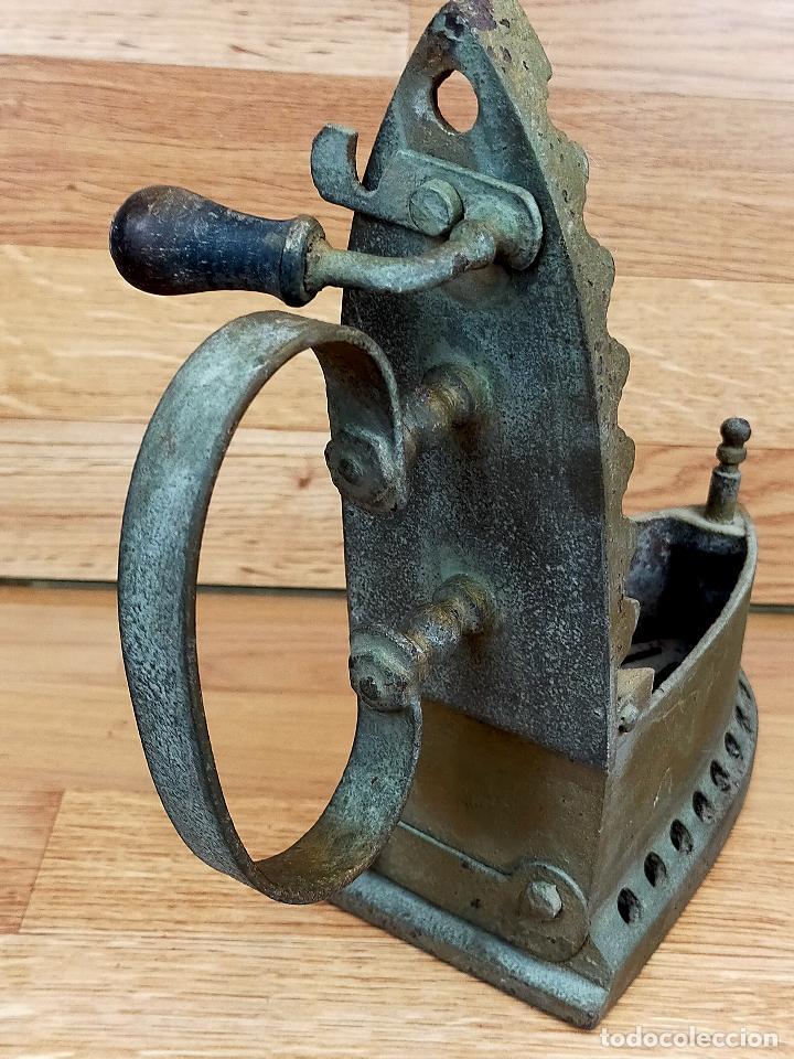 Antigüedades: PLANCHA CARBON - Foto 9 - 255428505