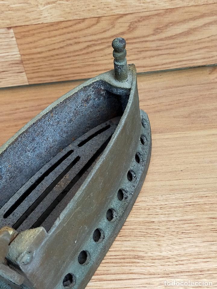 Antigüedades: PLANCHA CARBON - Foto 10 - 255428505