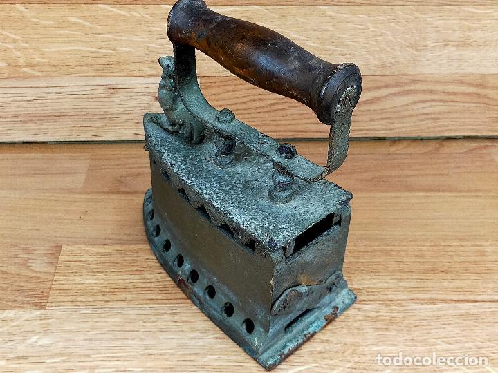Antigüedades: PLANCHA CARBON - Foto 9 - 255435775