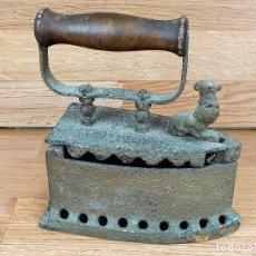Antigüedades: PLANCHA CARBON. Lote 255435775