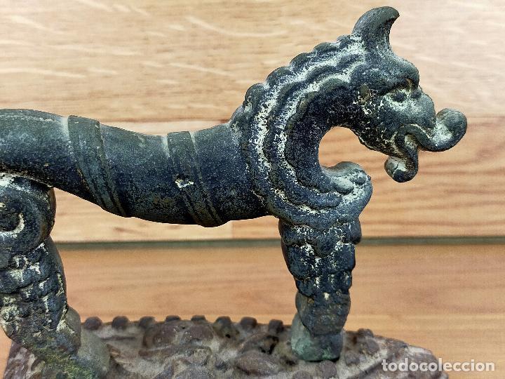 Antigüedades: Plancha zoomorfa SIGLO XVIII O PRINCIPIOS DEL XIX - Foto 5 - 255436790