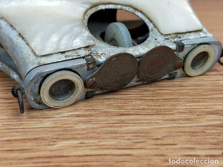 Antigüedades: BINOCULARES en nacar para piezas o restaurar - Foto 9 - 255441415