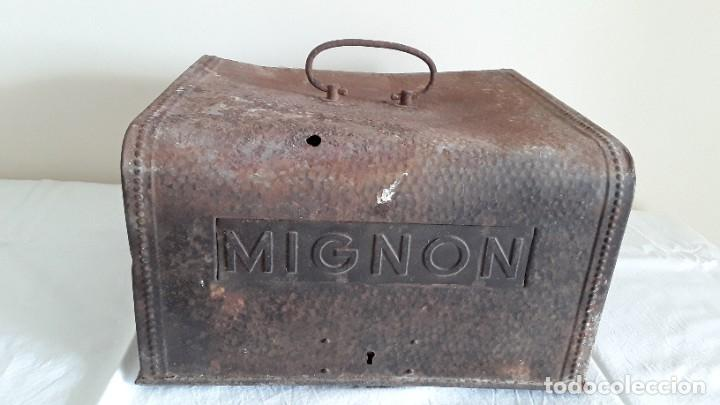 Antigüedades: Funda máquina escribir Mignon - Foto 3 - 255459775