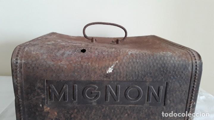 Antigüedades: Funda máquina escribir Mignon - Foto 4 - 255459775