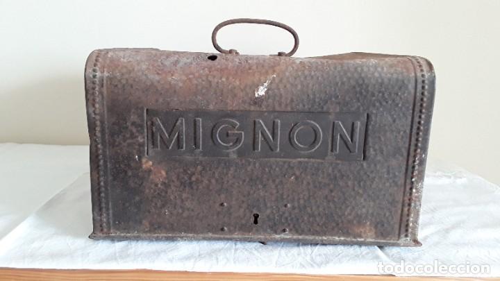 Antigüedades: Funda máquina escribir Mignon - Foto 11 - 255459775