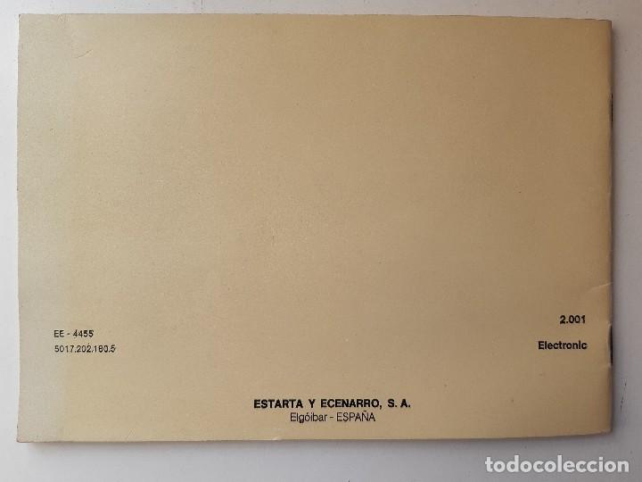 Antigüedades: SIGMA LIBRO DE INSTRUCCIONES Y MANUAL DE LABORES 2001 - Foto 3 - 255470315