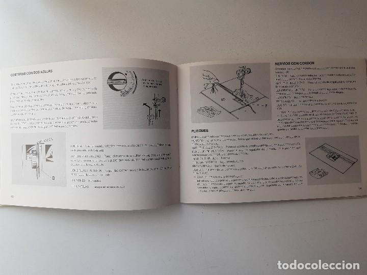 Antigüedades: SIGMA LIBRO DE INSTRUCCIONES Y MANUAL DE LABORES 2001 - Foto 4 - 255470315