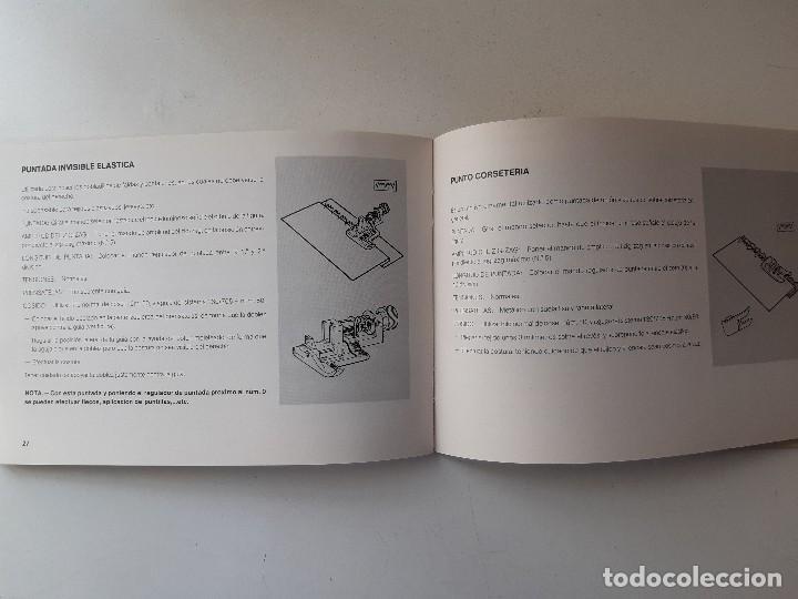 Antigüedades: SIGMA LIBRO DE INSTRUCCIONES Y MANUAL DE LABORES 2001 - Foto 6 - 255470315