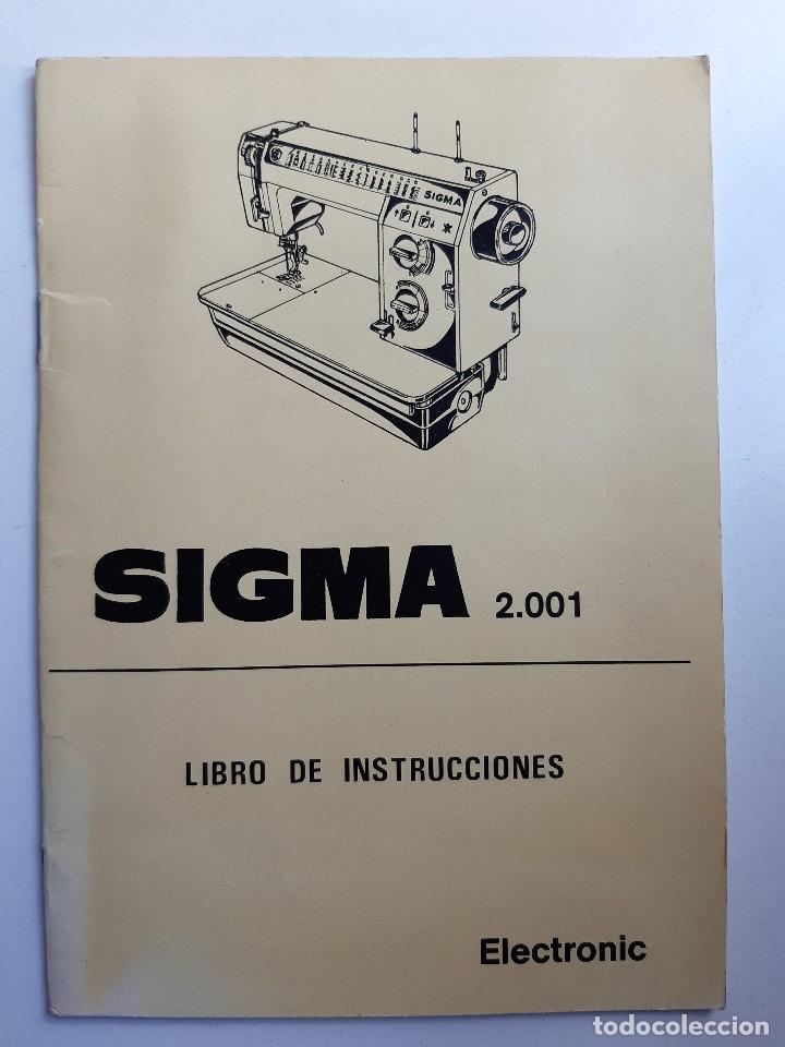 Antigüedades: SIGMA LIBRO DE INSTRUCCIONES Y MANUAL DE LABORES 2001 - Foto 12 - 255470315