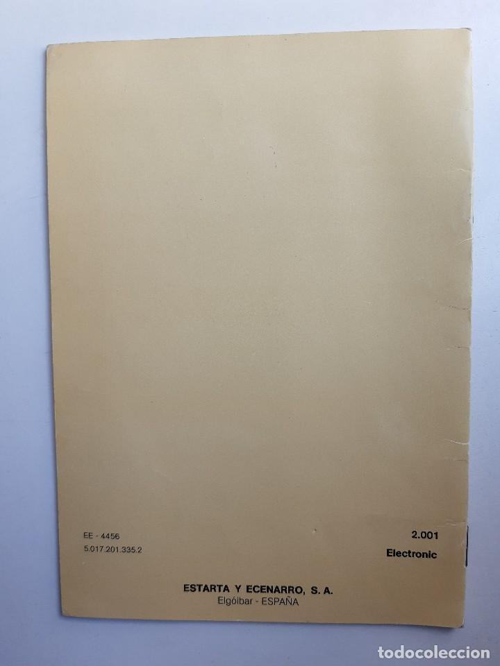 Antigüedades: SIGMA LIBRO DE INSTRUCCIONES Y MANUAL DE LABORES 2001 - Foto 13 - 255470315