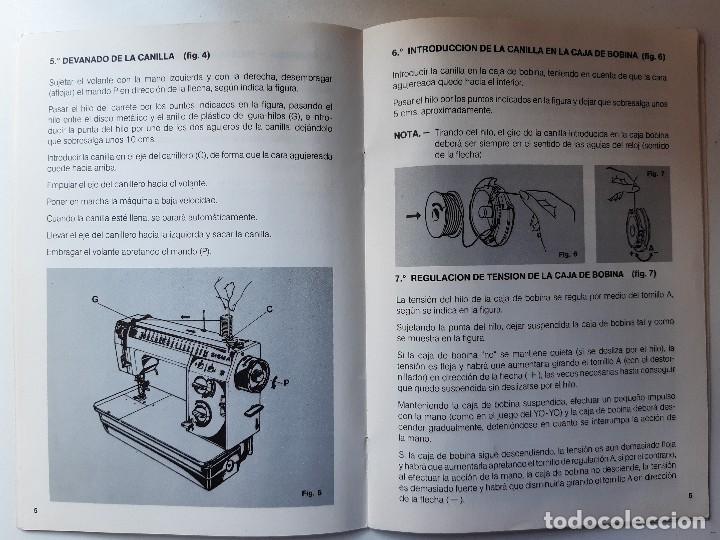 Antigüedades: SIGMA LIBRO DE INSTRUCCIONES Y MANUAL DE LABORES 2001 - Foto 15 - 255470315