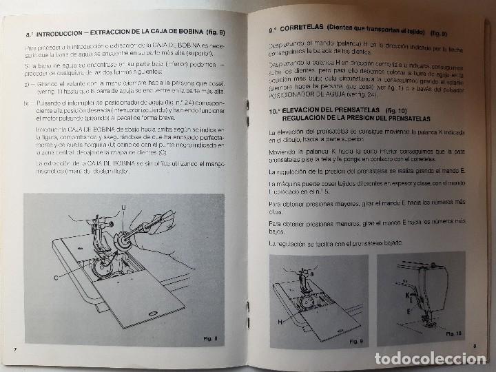 Antigüedades: SIGMA LIBRO DE INSTRUCCIONES Y MANUAL DE LABORES 2001 - Foto 16 - 255470315