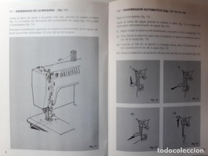 Antigüedades: SIGMA LIBRO DE INSTRUCCIONES Y MANUAL DE LABORES 2001 - Foto 17 - 255470315