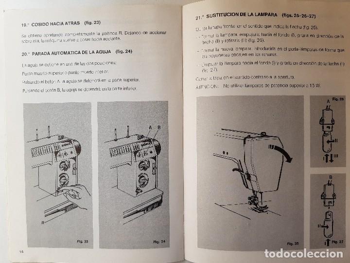 Antigüedades: SIGMA LIBRO DE INSTRUCCIONES Y MANUAL DE LABORES 2001 - Foto 9 - 255470315