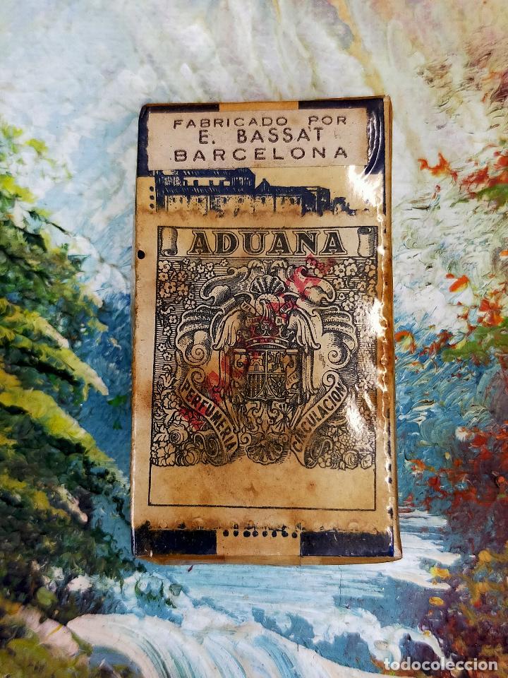 Antigüedades: CAJA CON 10 Hoja de afeitar HOJAS DE AFEITAR TOLEDO - PRECINTADA - Foto 4 - 255512200
