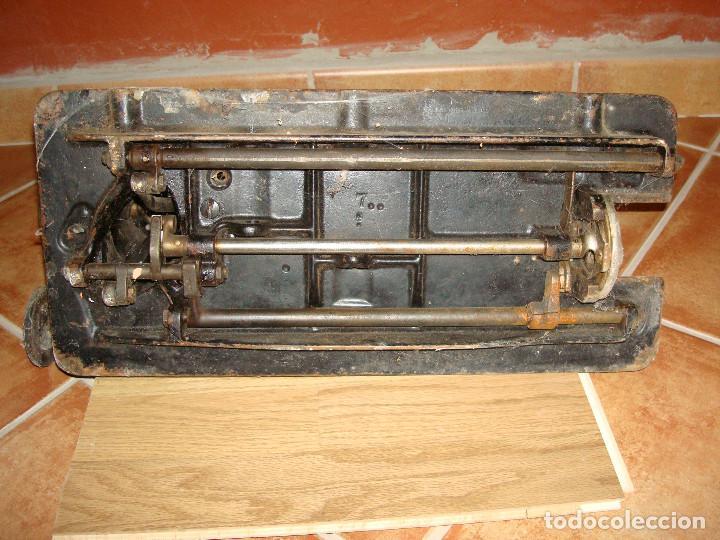 Antigüedades: cabeza de maquina de coser singer grande - Foto 13 - 255514940