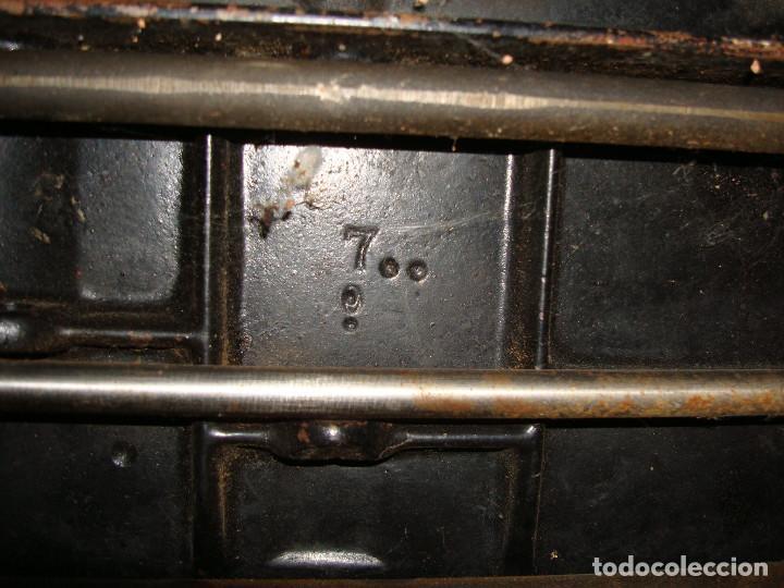 Antigüedades: cabeza de maquina de coser singer grande - Foto 15 - 255514940