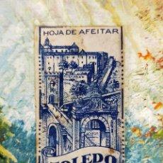 Antigüedades: HOJA DE AFEITAR HOJAS DE AFEITAR TOLEDO. Lote 255515570