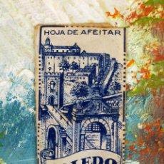 Antigüedades: HOJA DE AFEITAR HOJAS DE AFEITAR TOLEDO. Lote 255515780