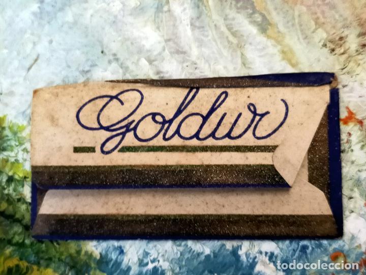 Antigüedades: HOJA DE AFEITAR GOLDUR - Foto 2 - 255527590