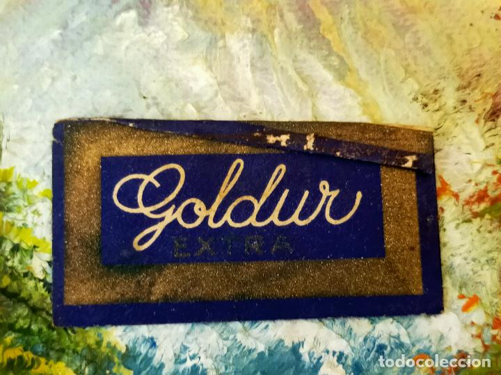 HOJA DE AFEITAR GOLDUR (Antigüedades - Técnicas - Barbería - Hojas de Afeitar Antiguas)