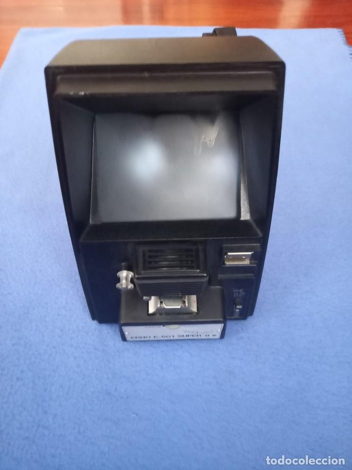 VISIONADORA ERNO E-601 DUAL 8. PARA PELICULAS DE 8MM (Antigüedades - Técnicas - Aparatos de Cine Antiguo - Cámaras de Super 8 mm Antiguas)