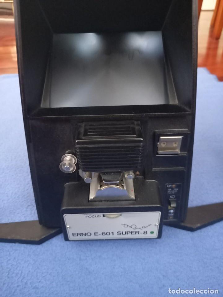 Antigüedades: VISIONADORA ERNO E-601 DUAL 8. PARA PELICULAS DE 8MM - Foto 3 - 255565255