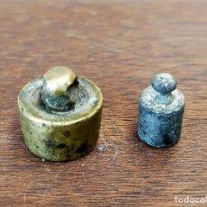 Antigüedades: PESAS. Lote 255566080