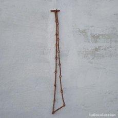 Antigüedades: CADENA DE HIERRO FORJADO, MEDIDA 190CM. Lote 255576135