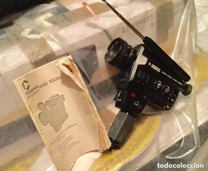 TOMAVISTAS SUPER8 PROFESIONAL COSINA - SONORO MODELO MAGIC SOUTND XL-204 MACRO SONORO (Antigüedades - Técnicas - Aparatos de Cine Antiguo - Tomavistas Antiguos)