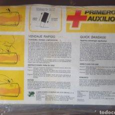 Antigüedades: MALETIN DE VENDAJE RAPIDO CON 6 ACCESORIOS. Lote 255658105
