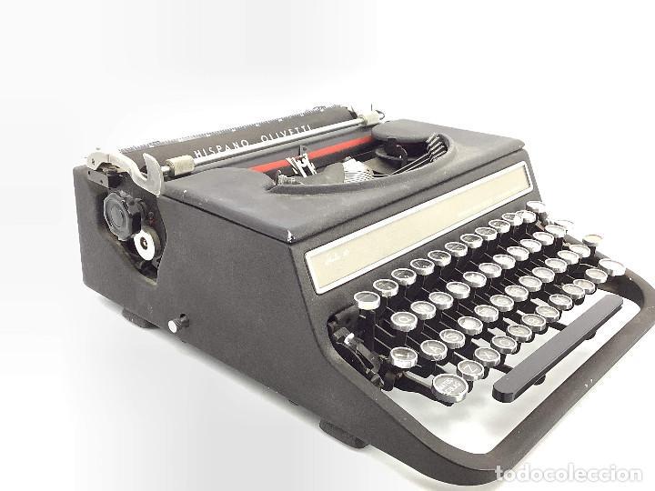 Antigüedades: Máquina de escribir Hispano Olivetti . Studio 46 - Foto 4 - 255674215