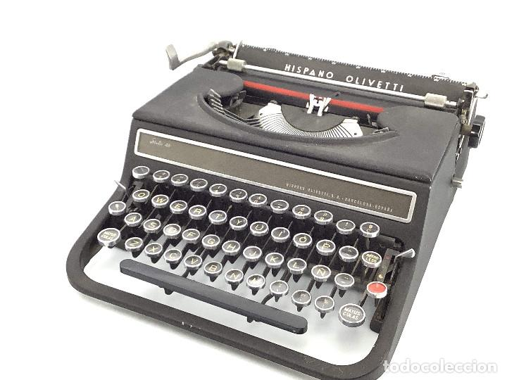 MÁQUINA DE ESCRIBIR HISPANO OLIVETTI . STUDIO 46 (Antigüedades - Técnicas - Máquinas de Escribir Antiguas - Olivetti)