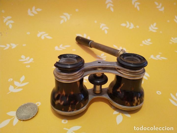 Antigüedades: Colección de 11 prismáticos antiguos - Foto 2 - 255921385