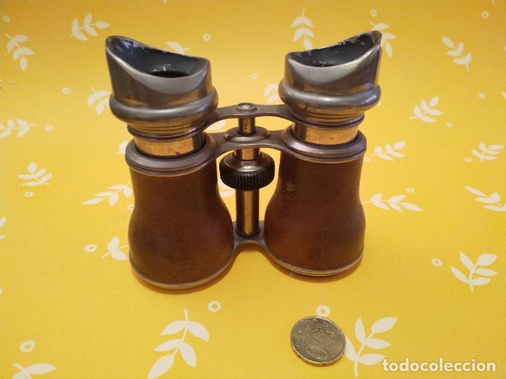 Antigüedades: Colección de 11 prismáticos antiguos - Foto 3 - 255921385