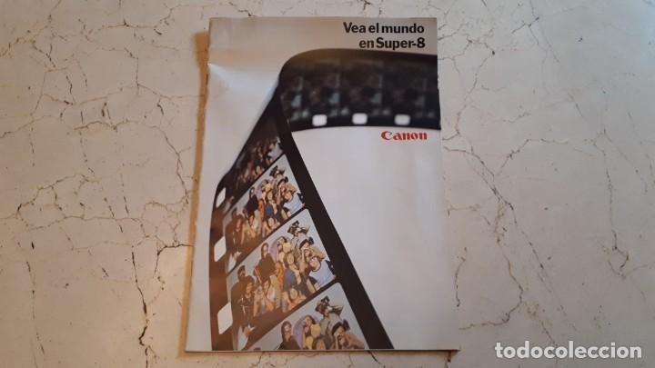 Antigüedades: CÁMARA DE SUPER 8 MM O TOMAVISTAS CANON 514 XL - 1976. - Foto 7 - 255932355