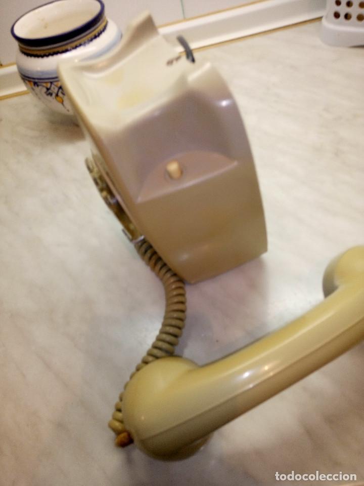 Teléfonos: TELEFONO HERALDO DE PARED. TELEFONICA AÑOS 70. FUNCIONANDO. COLOR CREMA. FOTOS Y DESCRIPCION - Foto 4 - 255937085
