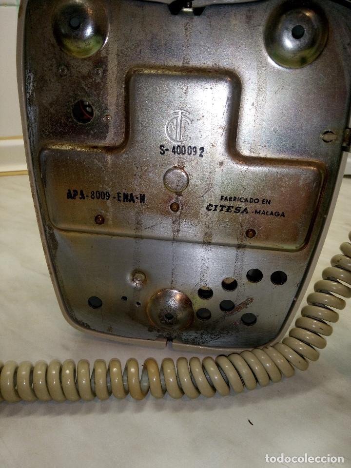 Teléfonos: TELEFONO HERALDO DE PARED. TELEFONICA AÑOS 70. FUNCIONANDO. COLOR CREMA. FOTOS Y DESCRIPCION - Foto 6 - 255937085