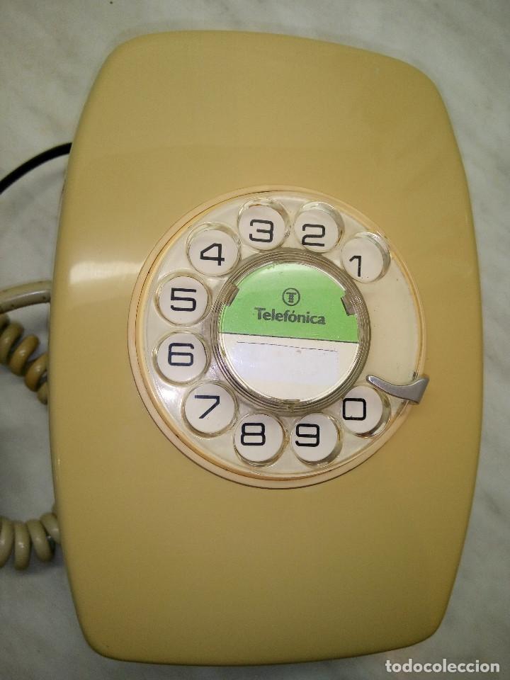 Teléfonos: TELEFONO HERALDO DE PARED. TELEFONICA AÑOS 70. FUNCIONANDO. COLOR CREMA. FOTOS Y DESCRIPCION - Foto 9 - 255937085