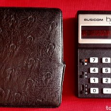 Antigüedades: CALCULADORA BUSICOM HANDY LE-80A .MADE IN JAPON .NO ESTA PROBADO. Lote 255937190