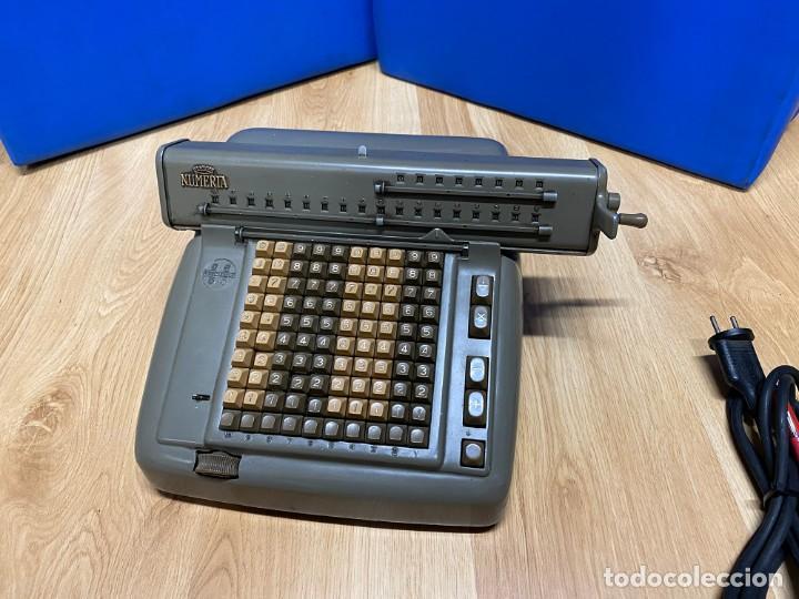 Antigüedades: Máquina de Cálculo Lagomarsino Numeria - Foto 2 - 255937200